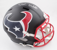 Deshaun Watson Signed Texans Full-Size Matte Black Speed Helmet (Beckett COA) (See Description) at PristineAuction.com