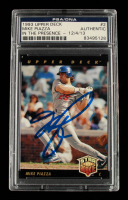 Mike Piazza Signed 1993 Upper Deck #2 (PSA Encapsulated) at PristineAuction.com