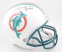 "Dan Marino Signed Dolphins Full-Size Helmet Inscribed ""84 MVP"" (Beckett COA) at PristineAuction.com"