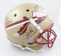Charlie Ward, Chris Weinke & Jameis Winston Signed Florida State Seminoles Full-Size Helmet with Multiple Inscripitons (Beckett COA) at PristineAuction.com