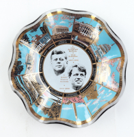 1960's Kennedy Glass Dish in Original Package at PristineAuction.com