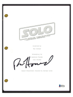 """Ron Howard Signed """"Solo: A Star Wars Story"""" Movie Script (Beckett COA) at PristineAuction.com"""