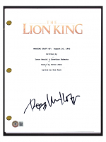 """Rob Minkoff Signed """"The Lion King"""" Movie Script (Beckett COA) at PristineAuction.com"""