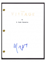 "M. Night Shyamalan Signed ""The Village"" Movie Script (Beckett COA) at PristineAuction.com"