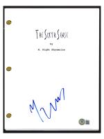 "M. Night Shyamalan Signed ""The Sixth Sense"" Movie Script (Beckett COA) at PristineAuction.com"