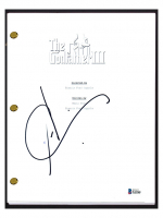"""Andy Garcia Signed """"The Godfather III"""" Movie Script (Beckett COA) at PristineAuction.com"""
