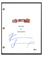 """Kevin Smith Signed """"Clerks"""" Movie Script (Beckett COA) at PristineAuction.com"""