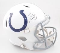 Darius Leonard Signed Colts Full-Size Speed Helmet (JSA COA) (See Description) at PristineAuction.com