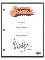 "Malcolm McDowell Signed ""A Clockwork Orange"" Movie Script (Beckett COA) at PristineAuction.com"