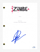 "Rose McIver Signed ""iZombie"" Pilot Episode Script (AutographCOA COA) at PristineAuction.com"