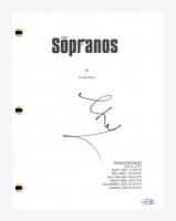 "Steve Schirripa Signed ""The Sopranos"" Pilot Episode Script (AutographCOA COA) at PristineAuction.com"