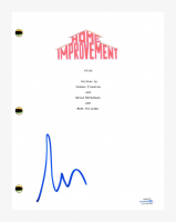 "Tim Allen Signed ""Home Improvement"" Pilot Episode Script (AutographCOA COA) at PristineAuction.com"