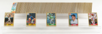 1987 Topps Complete Set of (792) Baseball Cards with #320 Barry Bonds RC, #366 Mark McGwire, #648 Barry Larkin RC, #340 Roger Clemens, #170 Bo Jackson RC at PristineAuction.com