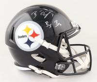 "Ben Roethlisberger Signed Steelers Full-Size Speed Helmet Inscribed ""Big Ben"" (Fanatics Hologram) at PristineAuction.com"