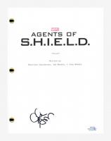 "Clark Gregg Signed ""Agents of Shield"" Pilot Episode Script (AutographCOA COA) at PristineAuction.com"