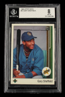 Gary Sheffield 1989 Upper Deck #13 RC (BGS 8) at PristineAuction.com