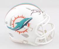 Tua Tagovailoa Signed Dolphins Speed Mini-Helmet (Fanatics Hologram) at PristineAuction.com