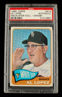 Al Lopez 1965 Topps Manager #414 (PSA Authentic) at PristineAuction.com