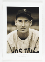 """Historical Photo Archive - Ted Williams """"The Rookie"""" Limited Edition 10x14.5 Fine Art Giclee on Paper #55/375 (PA LOA) at PristineAuction.com"""