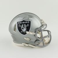 Maxx Crosby Signed Raiders Flash Alternate Speed Mini Helmet (Beckett Hologram) at PristineAuction.com