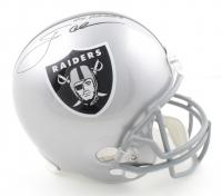 "Jon Gruden Signed Raiders Full-Size Helmet Inscribed ""Go Raiders"" ( JSA COA) at PristineAuction.com"