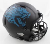 Urban Meyer Signed Jaguars Full-Size Eclipse Alternate Speed Helmet (Beckett COA) (See Description) at PristineAuction.com