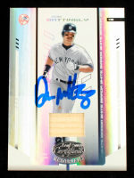 Don Mattingly Signed 2004 Leaf Certified Materials Mirror Bat White #220 #85/100 (Schulte Sports Hologram) at PristineAuction.com