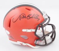 Nick Chubb Signed Browns Speed Mini Helmet (JSA COA) at PristineAuction.com