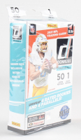 2021 Panini Donruss Football Hanger Box with (50) Cards at PristineAuction.com