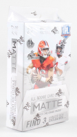 2021 Wild Card Matte White Football Hanger Box with (10) Cards at PristineAuction.com