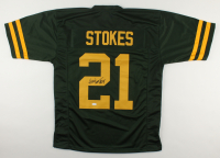 Eric Stokes Signed Jersey (JSA COA) at PristineAuction.com