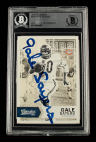 Gale Sayers Signed 2016 Classics #194 (BGS Encapsulated) at PristineAuction.com