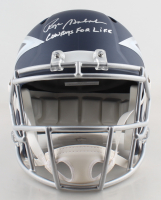 """Roger Staubach Signed Cowboys Full-Size AMP Alternate Speed Helmet Inscribed """"Cowboys For Life"""" (Beckett COA) at PristineAuction.com"""