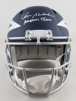 "Roger Staubach Signed Cowboys Full-Size AMP Alternate Speed Helmet Inscribed ""Americas Team"" (Beckett COA) at PristineAuction.com"