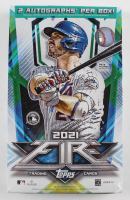 2021 Topps Fire Baseball Hobby Box with (20) Packs at PristineAuction.com