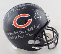 Jim Covert Signed Bears Full-Size Helmet with Multiple Inscriptions (PSA COA) at PristineAuction.com