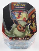 Pokemon TCG: Eevee Evolutions Tin - Flareon V at PristineAuction.com