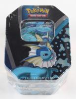 Pokemon TCG: Eevee Evolutions Tin - Vaporeon V at PristineAuction.com