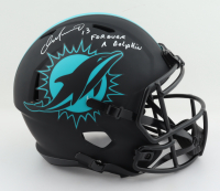 """Dan Marino Signed Dolphins Full-Size Eclipse Alternate Speed Helmet Inscribed """"Forever A Dolphin"""" (Beckett Hologram) at PristineAuction.com"""