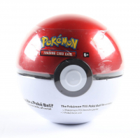 Pokemon TCG: Poke Ball Tin with (3) Booster Packs at PristineAuction.com