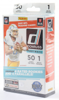 2021 Panini Donruss Football Hanger Box with (50) Cards (See Description) at PristineAuction.com