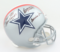 """Drew Pearson & Danny White Signed Cowboys Full-Size Throwback Helmet Inscribed """"SBXII Champs"""" & """"America's Team"""" (Beckett COA) at PristineAuction.com"""
