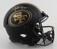 Frank Gore Signed 49ers Full-Size Eclipse Alternate Speed Helmet (Beckett COA) at PristineAuction.com