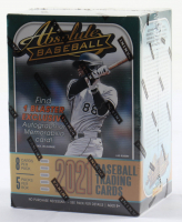 2021 Panini Absolute Baseball Blaster Box with (5) Packs at PristineAuction.com
