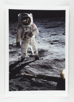 """Historical Photo Archive - """"Walking on the Moon"""" Limited Edition 16.5x22 Fine Art Giclee on Paper #33/375 (PA LOA) at PristineAuction.com"""