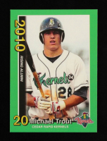 Mike Trout 2010 Cedar Rapids Kernels Rising Alumni Team Issue #1 at PristineAuction.com