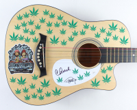 """Cheech Marin & Tommy Chong Signed 38"""" Acoustic Guitar (JSA COA) at PristineAuction.com"""