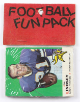 1969 Topps Football Fun Rack Pack with (10) Cards at PristineAuction.com