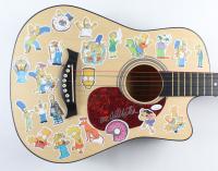 "Dan Castellaneta Signed ""The Simpsons"" 38"" Acoustic Guitar (JSA Hologram) at PristineAuction.com"