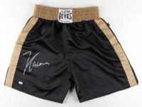 Julio Cesar Chavez Signed Cleto Reyes Boxing Shorts (PSA COA) at PristineAuction.com
